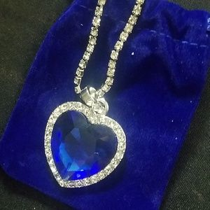 Jewelry - Heart of the Ocean Titanic inspired Necklace